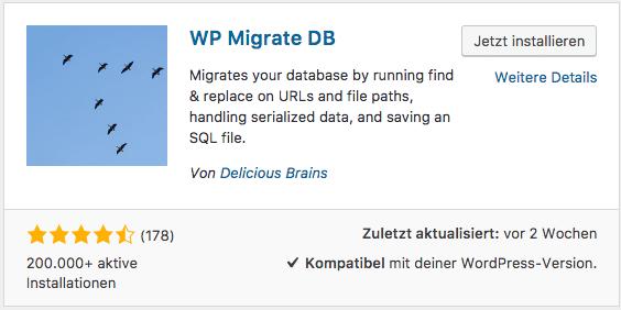 WP Migrate DB WordPress SSL Verschlüsselung