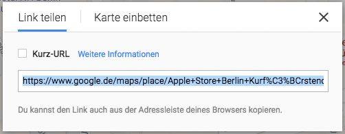 Iframe in WordPress einbinden - Google Maps